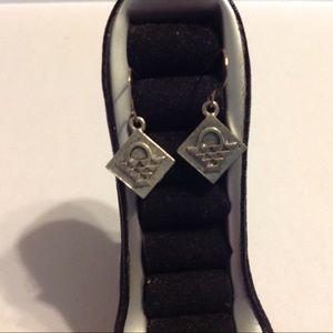 Premier Designs Silver Tone Earrings